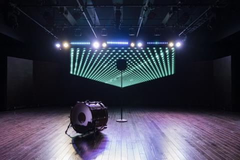 Photo of Berklee NYC's Black Box Theater
